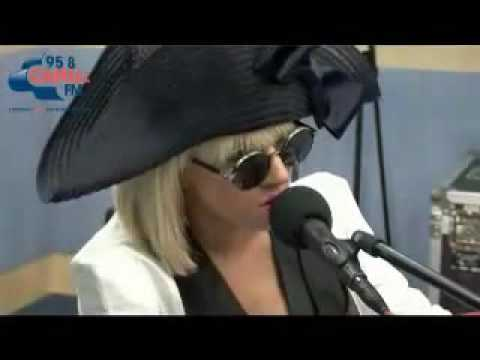 Lady GaGa Paparazzi Piano Version Live