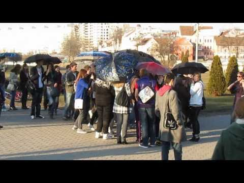 FLASHMOB.MINSK | April fool's day | 3.04.2011 + AfterParty