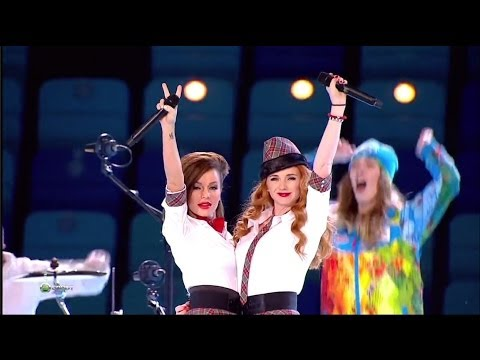 (2014! Return of) t.A.T.u. - Not Gonna Get Us/Нас не догонят (Live @ Winter Olympic Games 2014)