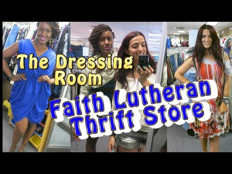 Faith Lutheran Dressing Room Part 2 Try On |Come Thrifting With Us|#ThriftersAnonymous