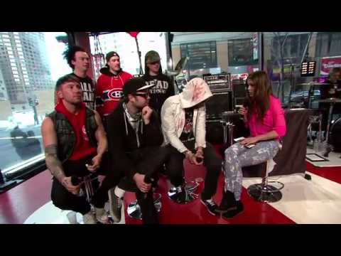 Hollywood Undead - Interview & Another Way Out [Live at Musique Plus 2013]