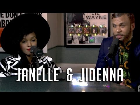 Janelle Monae introduces Jidenna to Ebro in the Morning