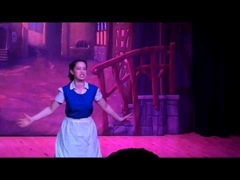 Rhona Marshall Clydeview Academy Beauty & the Beast Madam Gaston